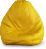 Beans Bag House XXXL Bean Bag Cover (Yel...