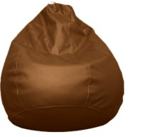 View Amatya Leatherette S Standard Kid Bean Bag(Foam Filling, Color - Brown) Furniture (Amatya)