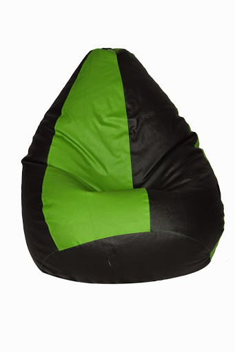 View Desire XL Teardrop Bean Bag  With Bean Filling(Multicolor) Furniture (Desire)