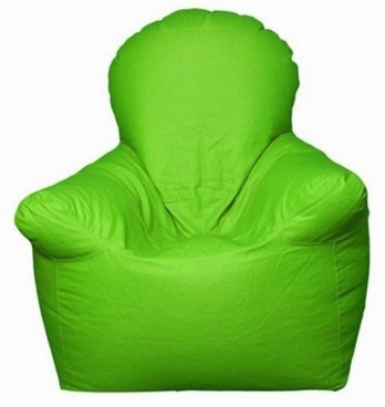 View Jigs XXXL Bean Bag Chair  With Bean Filling(Green) Furniture (Jigs)