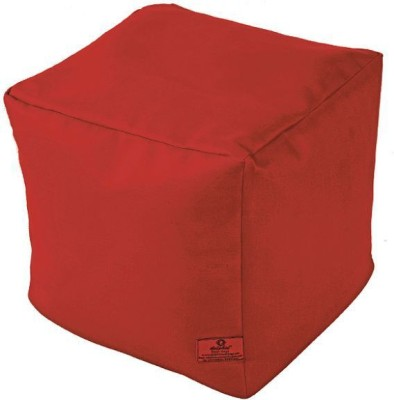 Star Large Bean Bag Cover(Maroon)