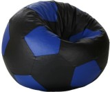 Elite India XXL Bean Bag Cover (Black, B...