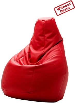 Fab Homez XXL Teardrop Bean Bag Cover(Red)