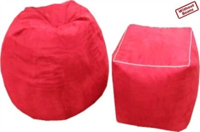 AVS XL Combo XL Teardrop Bean Bag  Cover (Without Filling)