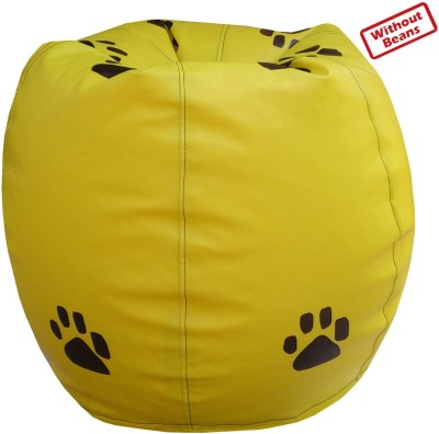 Fun ON XXXL Paw Teardrop Bean Bag  Cover (Without Filling)