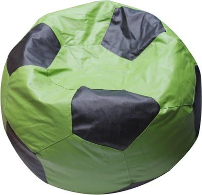 OHS XXXL Foot Ball Bean Bag Bean Bag  Cover (Without Filling)