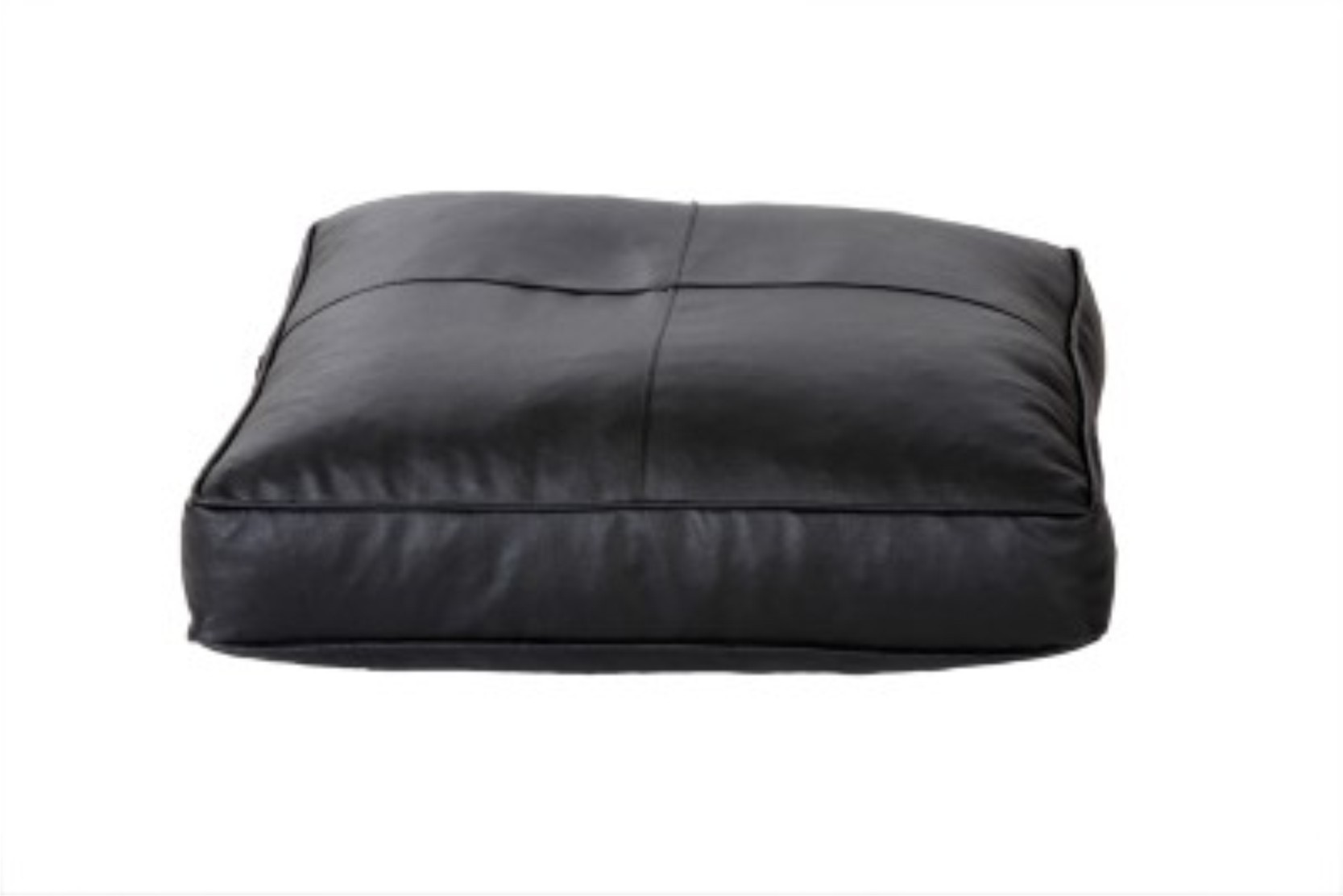 View SRV Large Bean Bag Footstool  With Bean Filling(Black) Furniture (SRV)