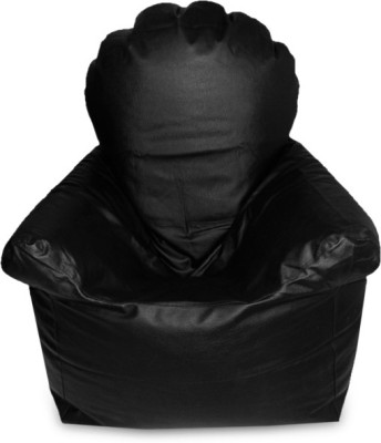 India Furnish XXL Chair With Arms Bean Bag cover- ( Without Beans) Bean Bag Chair  Cover (Without Filling)