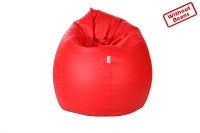 Comfy Bean Bags XXXL Teardrop Bean Bag Cover(Red)