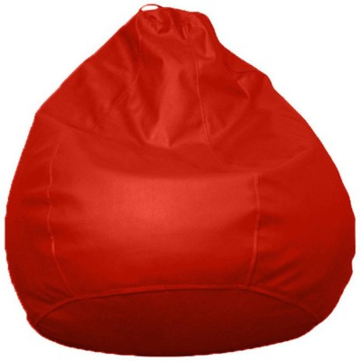 Raveda XXXL WineRed Teardrop Bean Bag  Cover (Without Filling)