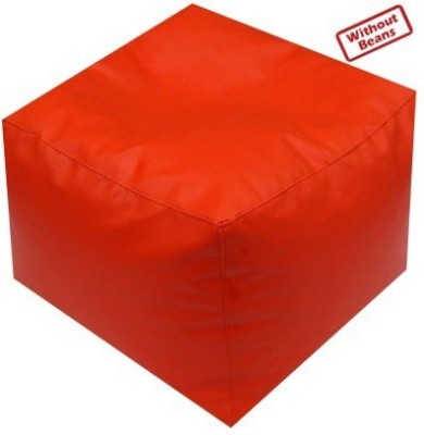 Star Large Bean Bag Cover(Orange)