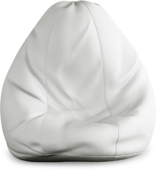 View Beans Bag House XXXL Bean Bag Cover(White) Furniture (Beans Bag House)