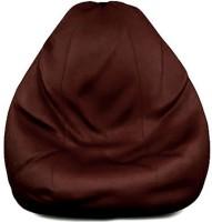 Comfort XXXL Bean Bag  With Bean Filling(Brown)