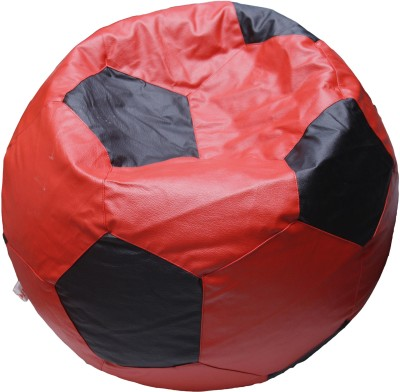 OHS XL Bean Bag Cover(Red, Black)