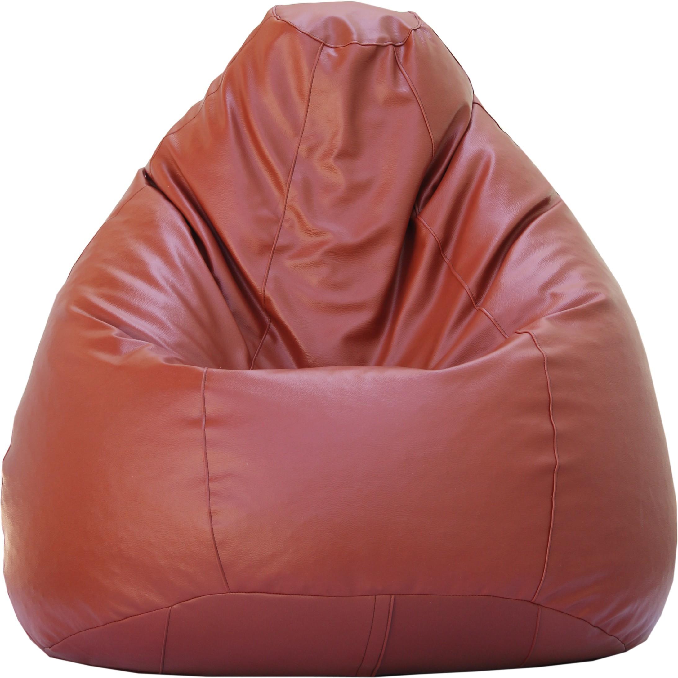 View Beanskart XXXL Bean Bag XXXL (Filled With Beans) Bean Bag  With Bean Filling(Tan) Furniture (Beanskart)