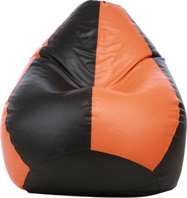 Star XXL Classic Dual Toned Bean Bag Bean Bag Cover (Without Filling)