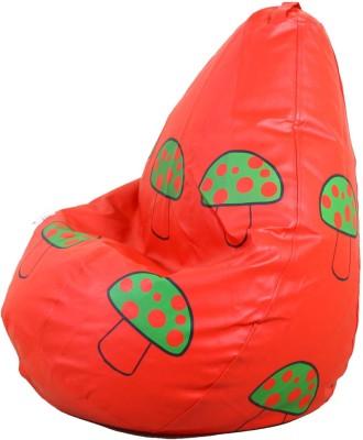 OHS XXL Teardrop Bean Bag  With Bean Filling