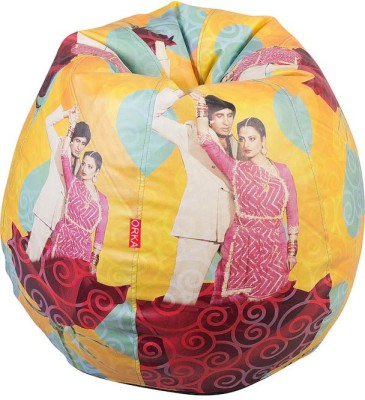 Fun ON XXL Digital Printed Bean Bag Bean Bag  Cover (Without Filling)