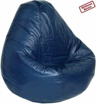 Fab Homez XXXL navy blue bean bag cover-XXXL Bean Bag  Cover (Without Filling)