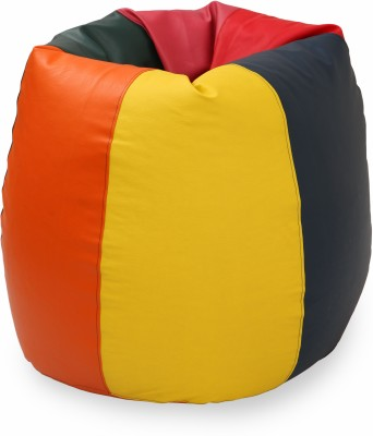 Star XXL Bean Bag Cover(Multicolor)