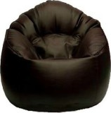 Elite India XXXL Bean Bag Cover (Brown)