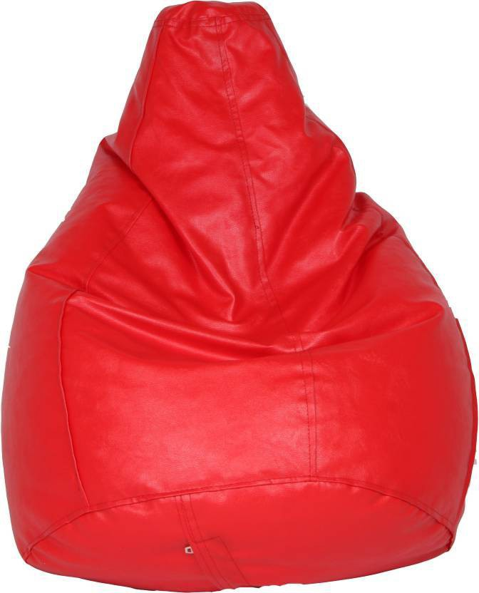 View JJ Design XXXL 35131 Bean Bag  With Bean Filling(Orange) Furniture (JJ Design)