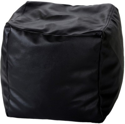 TJAR Medium Leather Cover Bean Bag Footstool  Cover (Without Filling)