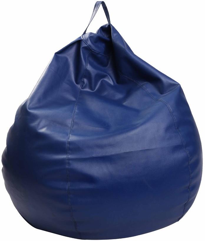 View Comfort XXXL Bean Bag  With Bean Filling(Blue) Furniture (Comfort)
