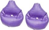 Zecado XXL Bean Bag Cover (Purple)