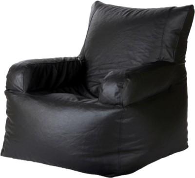 Parshva XXXL Moon Bean Bag Sofa  Cover (Without Filling)
