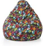 Style Homez XXL Teardrop Bean Bag  With ...