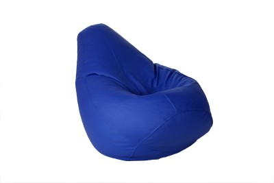 Comfy Bean Bags XXL Bean Bag  With Bean Filling(Blue)