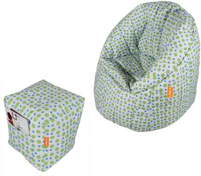 ORKA XXXL Bean Bag Sofa  With Bean Filling