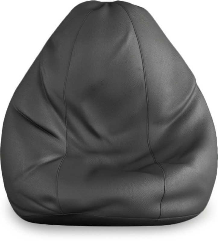 Beans Bag House Small Bean Bag Cover(Grey)