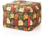 Style Homez Large Bean Bag Footstool  Wi...