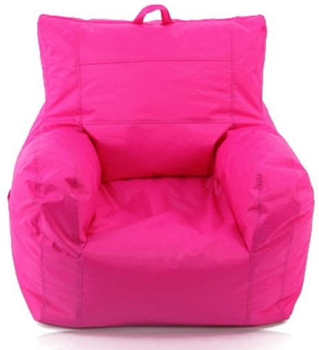 View Jigs XXXL Bean Bag Chair  With Bean Filling(Pink) Furniture (Jigs)