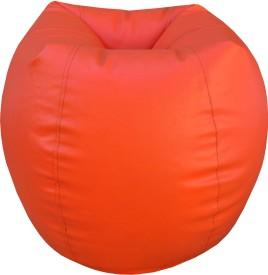 ORKA XXL Bean Bag Cover(Orange)
