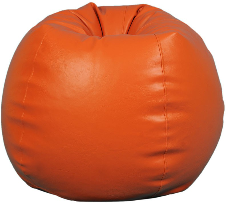 View TJAR XXL Bean Bag  With Bean Filling(Orange) Furniture (TJAR)