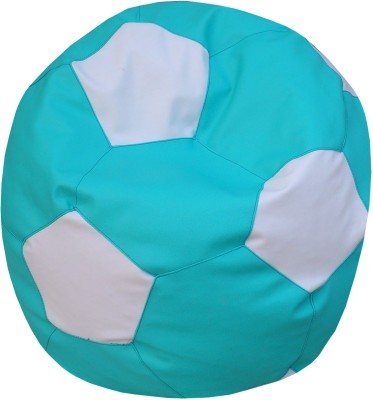 ORKA XL Football XL (Filled With Beans) Bean Bag  With Bean Filling