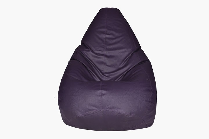 View Desire XL Teardrop Bean Bag  With Bean Filling(Purple) Furniture (Desire)