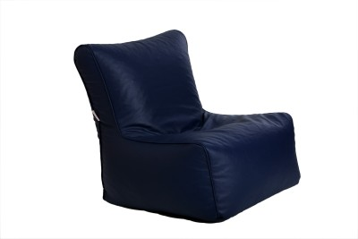 Comfy Bean Bags XL Bean Bag Chair  With Bean Filling(Blue)