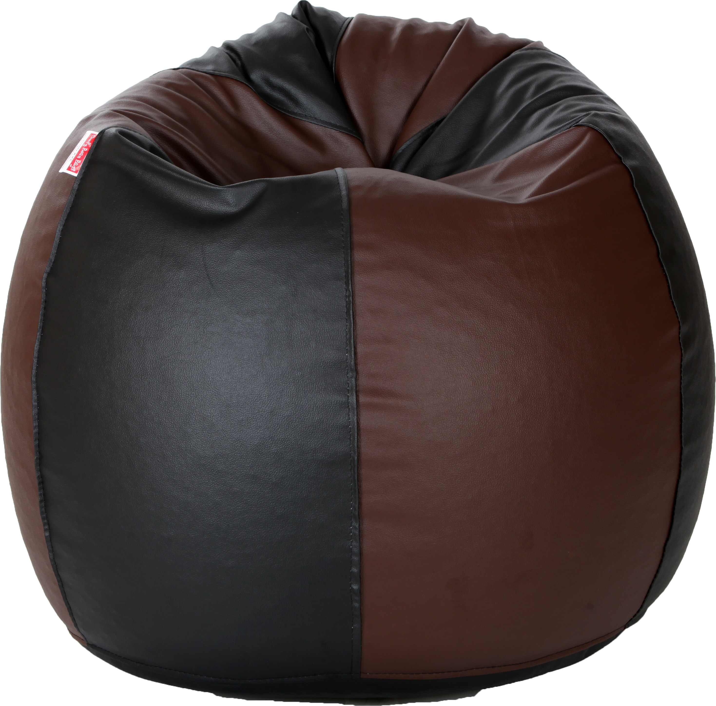 View Comfy Bean Bags XXXL Bean Bag Cover(Black, Maroon) Furniture (Comfy Bean Bags)