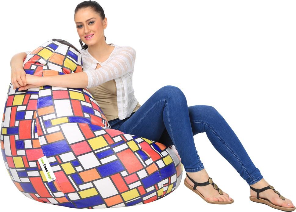 View Can Bean Bag XL Bean Bag Cover(Multicolor) Furniture (Can bean bags)