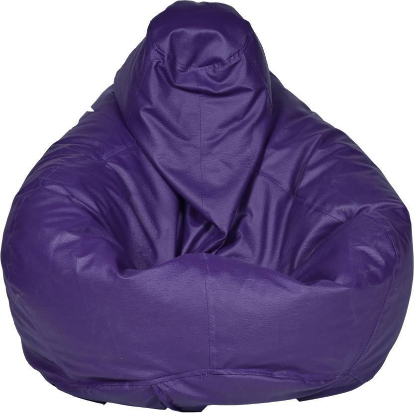 View JJ Design XXXL Bean Bag  With Bean Filling(Blue) Furniture (JJ Design)