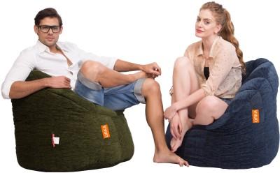 Orka Bean Bags XXL Bean Bag Sofa  With Bean Filling