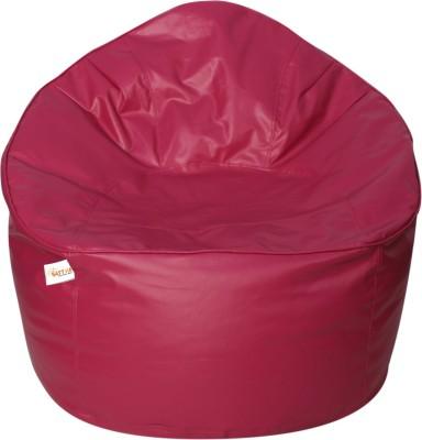 Sattva XXXL Muddha Bean Bag Sofa  With Bean Filling(Pink)