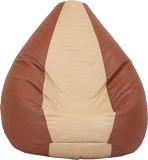 VizwaSS XL Teardrop Bean Bag  With Bean ...