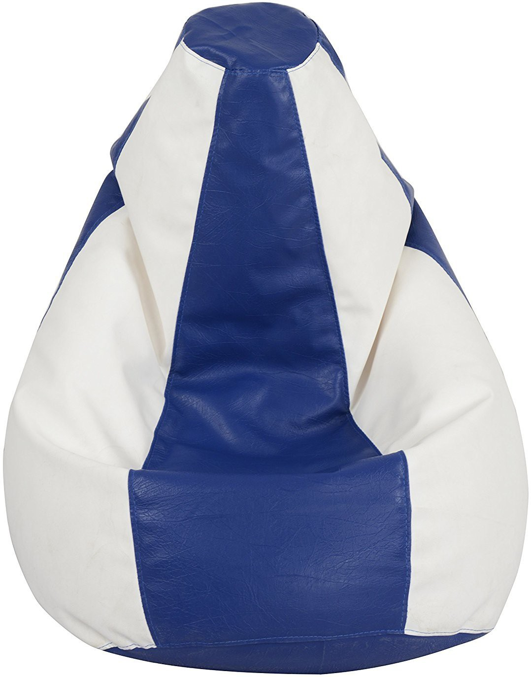 View styleaf XXL Bean Bag Cover(Blue, White) Furniture (styleaf)