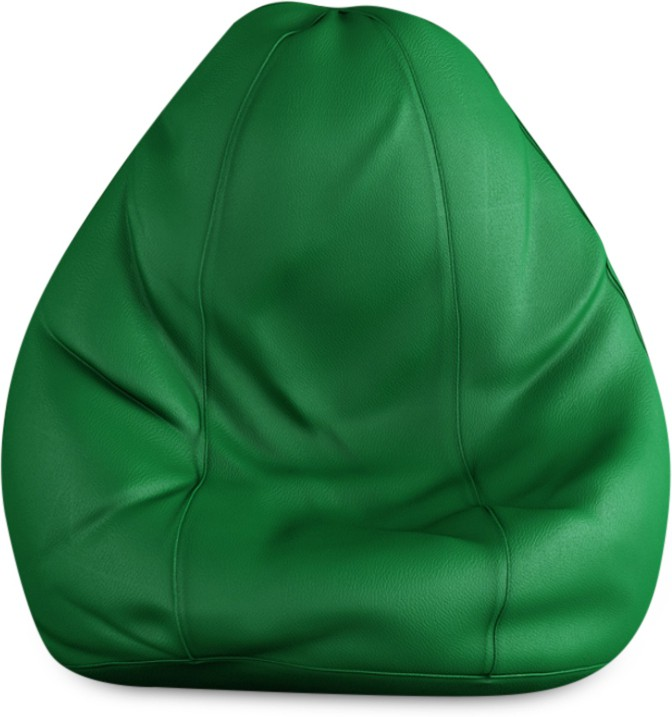 View Beans Bag House XL Bean Bag Cover(Green) Furniture (Beans Bag House)