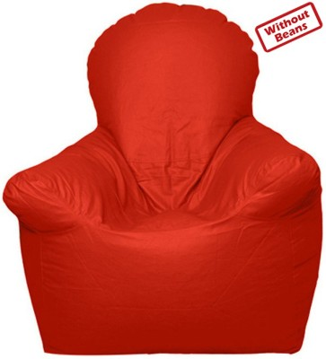 Anand Decor Small Bean Bag Sofa  Cover (Without Filling)